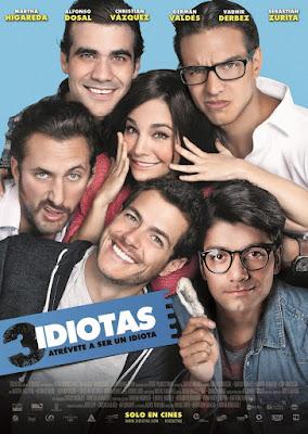 3 idiotas [2017] [NTSC/DVDR] Español Latino