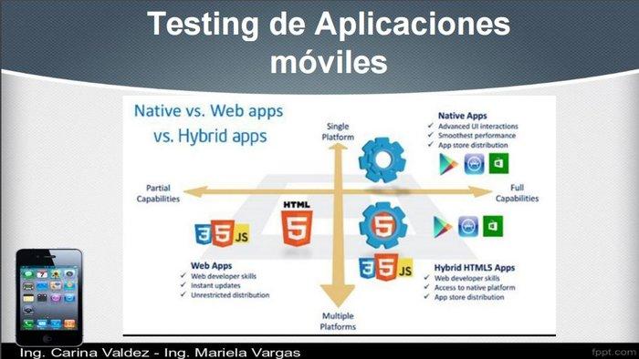 Curso de Testing de aplicaciones para celular