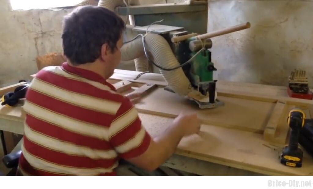 Como hacer moldura en tablero de mdf para puertas de
