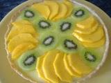 Tarta de Mango y Kiwi