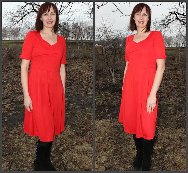 Во сне красное платье одеть