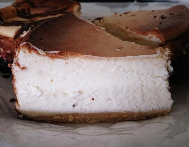 Polish Rye Crust Bakery, Dandenong, vanilla cheesecake