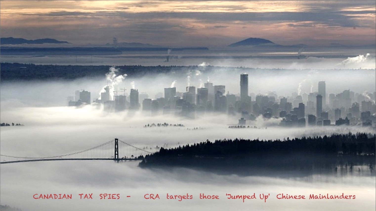 BURNABY METROTOWN - News and Views: Canadian Domestic Spying On the