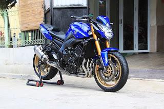 BURSA MOGE BEKAS BANDUNG : Dijual MOGE Yamaha Fz8 2013