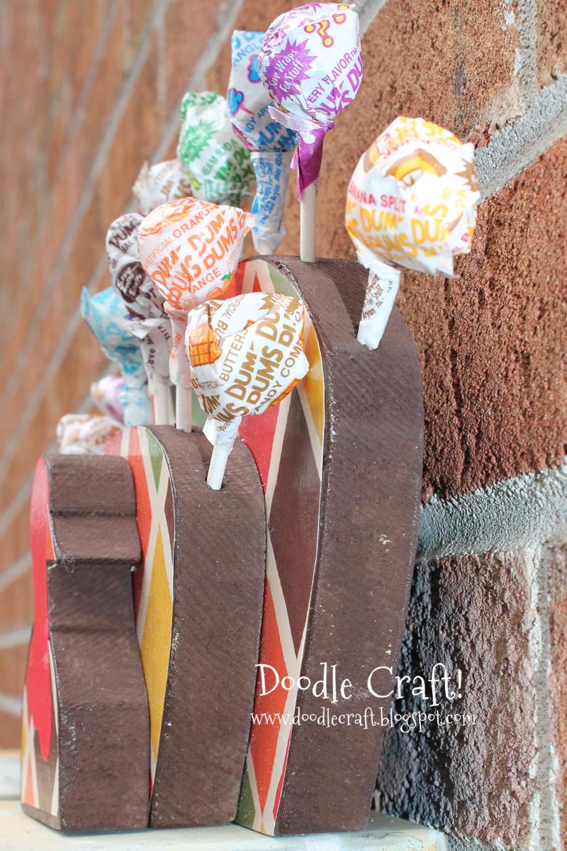 Doodlecraft Turkey Lollipops