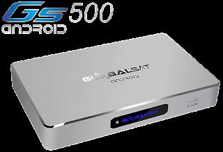 Resultado de imagem para Globalsat GS 500 Canais 70W SKS 61W