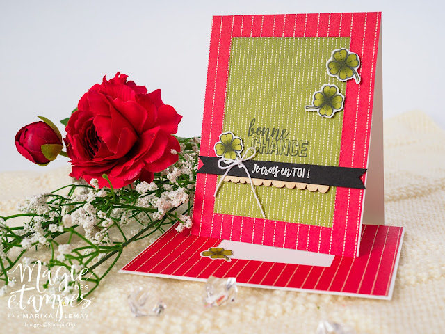 Ensemble de cartes faites avec le jeuVie formidable Stampin' Up!
