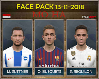 PES 2017 Facepack 13-11-2018 by Mo Ha