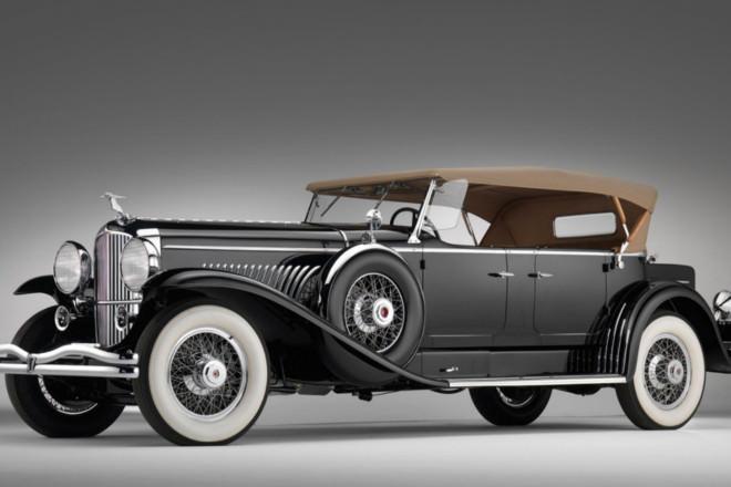 2 1931 Duesenberg Model J Derham Tourster