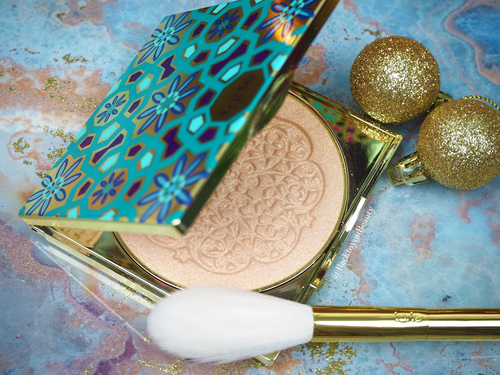 Tarte Limited Edition Goddess Glow Highlight & Brush