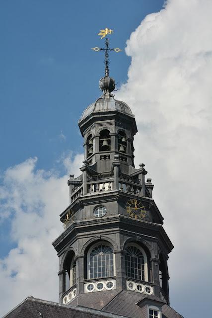 Modern Maastricht tower