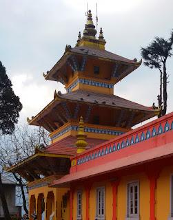 Dhirdham temple, Darjeeling