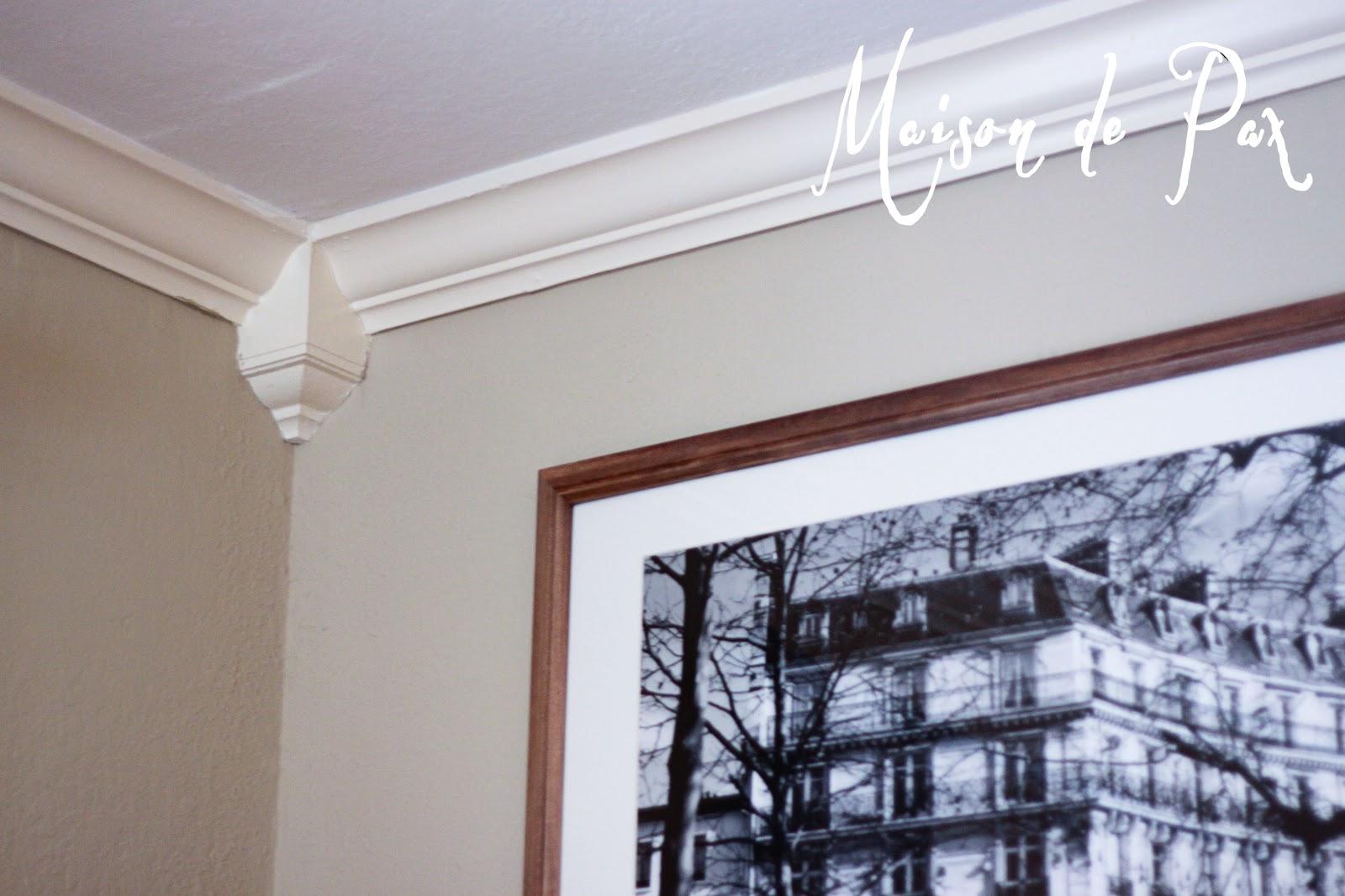 Installing Crown Molding - Maison de Pax