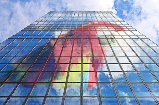 GIMP: reflejar en fachada edificio