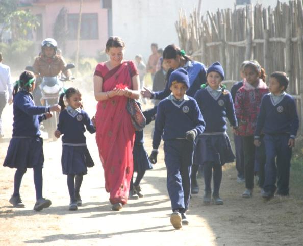 Maggie Doyne built the Kapila Valley Children's Home & later the Kapila Valley School in Nepal - BlinkNow