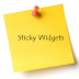 Cara Membuat Widget Melayang / Sticky Widget di Blog