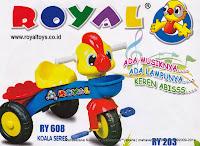 Sepeda Roda Tiga Royal RY608 Koala Series