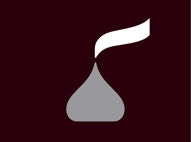 Los kisses & Hershey estrenan nuevo logo