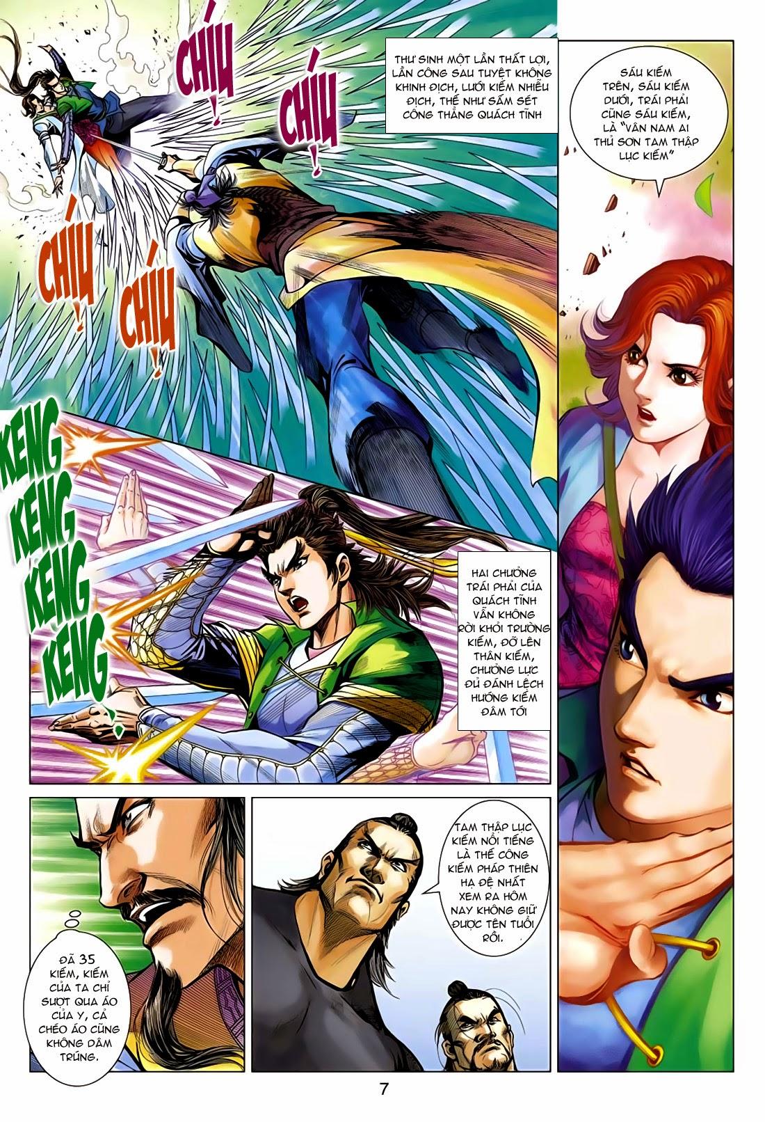 Anh Hùng Xạ Điêu anh hùng xạ đêu chap 75: hoàng thành cựu sự trang 7
