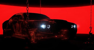 Dodge Challenger Demon SRT Trailer Framework Picture