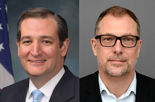 Photographs: Senator Ted Cruz; ICANN CEO Göran Marby
