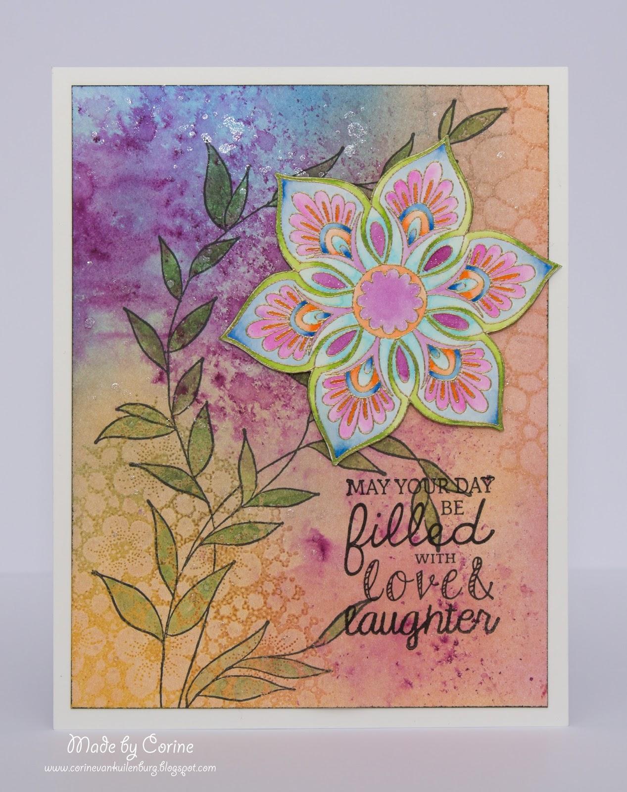 Magenta Art Stamp Sentiments
