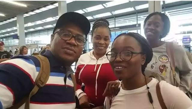 Tope Alabi and her family