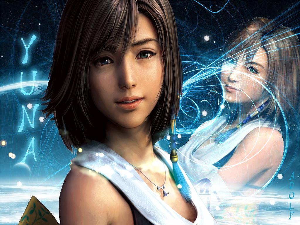 Video game gallery wallpaper avatars more - Yuna wallpaper ...