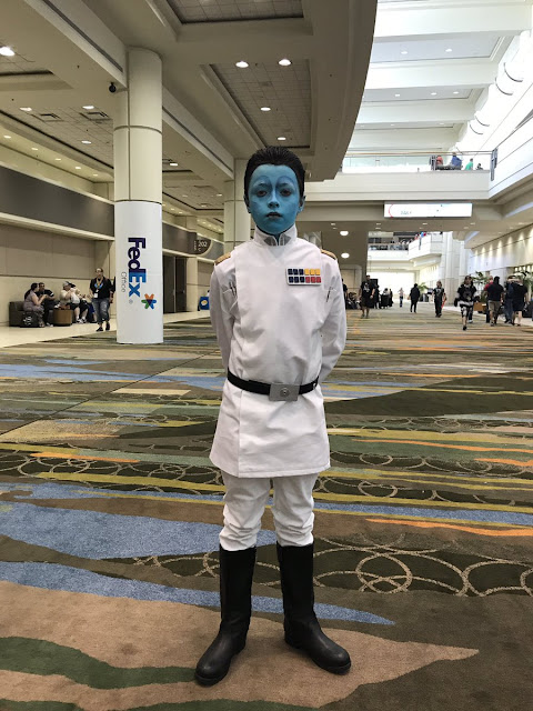Thrawn costume cosplay