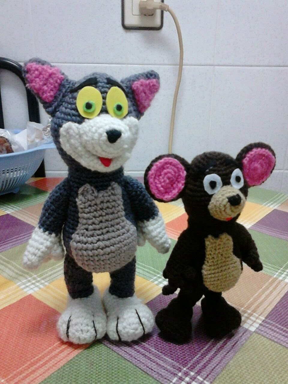 tom y jerry amigurumi
