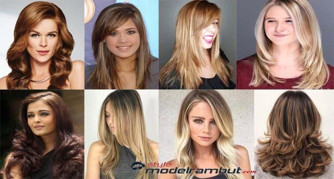 potongan rambut layer panjang poni samping, model rambut layer panjang lurus, model rambut layer panjang lurus tampak belakang, model rambut layer panjang 2019, model rambut layer panjang untuk wajah bulat, model rambut segi layer 2019