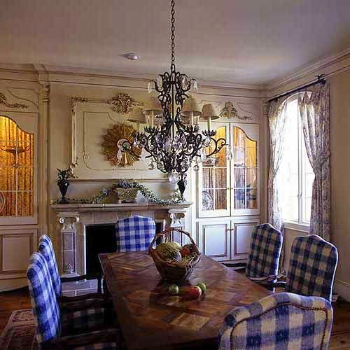 Feast Your Eyes Gorgeous Dining Room Decorating Ideas: Eye For Design: Decorate With Blue And White Buffalo Plaid