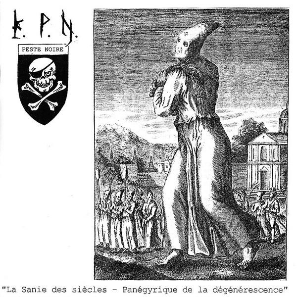 KPN la sanie des siècles peste noire black metal français