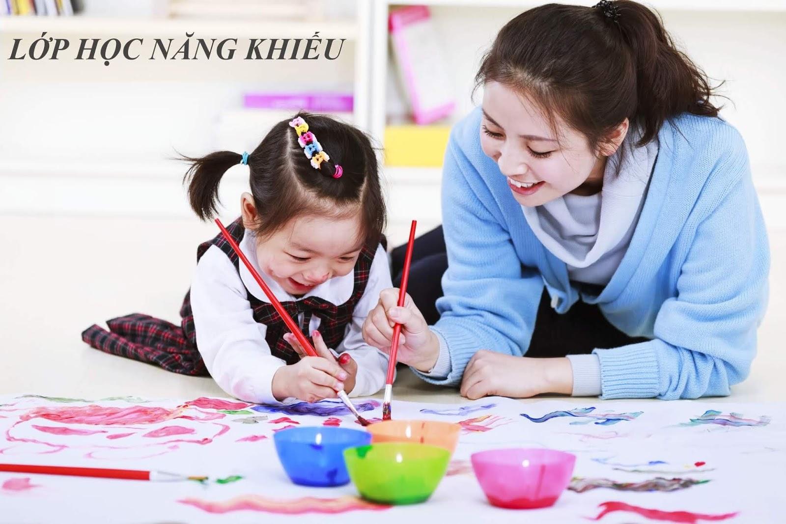 Lớp học năng khiếu dành cho bé tại dự án Rose Town