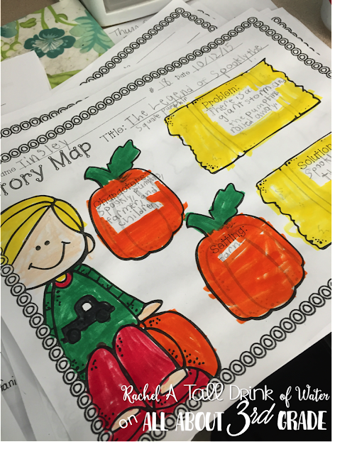 Pet Pumpkin writing project...get your kids writing all about pumpkins! Plus some free pumpkin poetry writing pages.