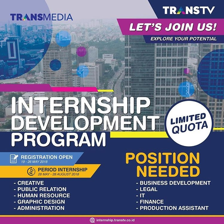 Program Magang Di TransTV Internship Development Program