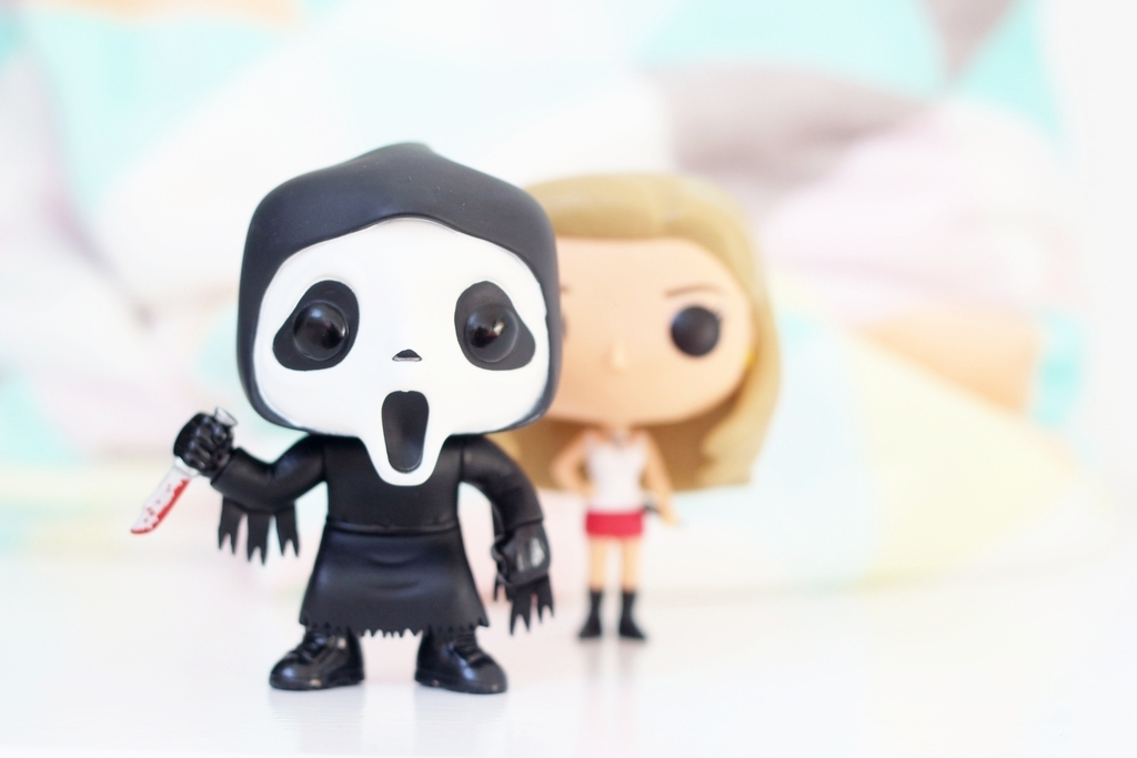 horror funkos, scream, buffy, funko pops