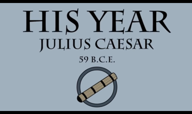 59 B.C.E.: The year of Caesar