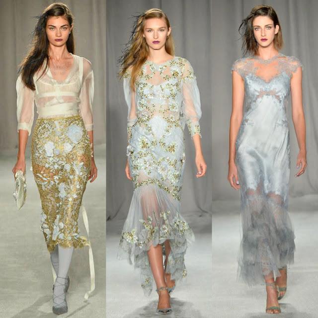 Bridal Fashion Week Spring 2014 Runway & Pictures ...   Marchesa Spring 2014