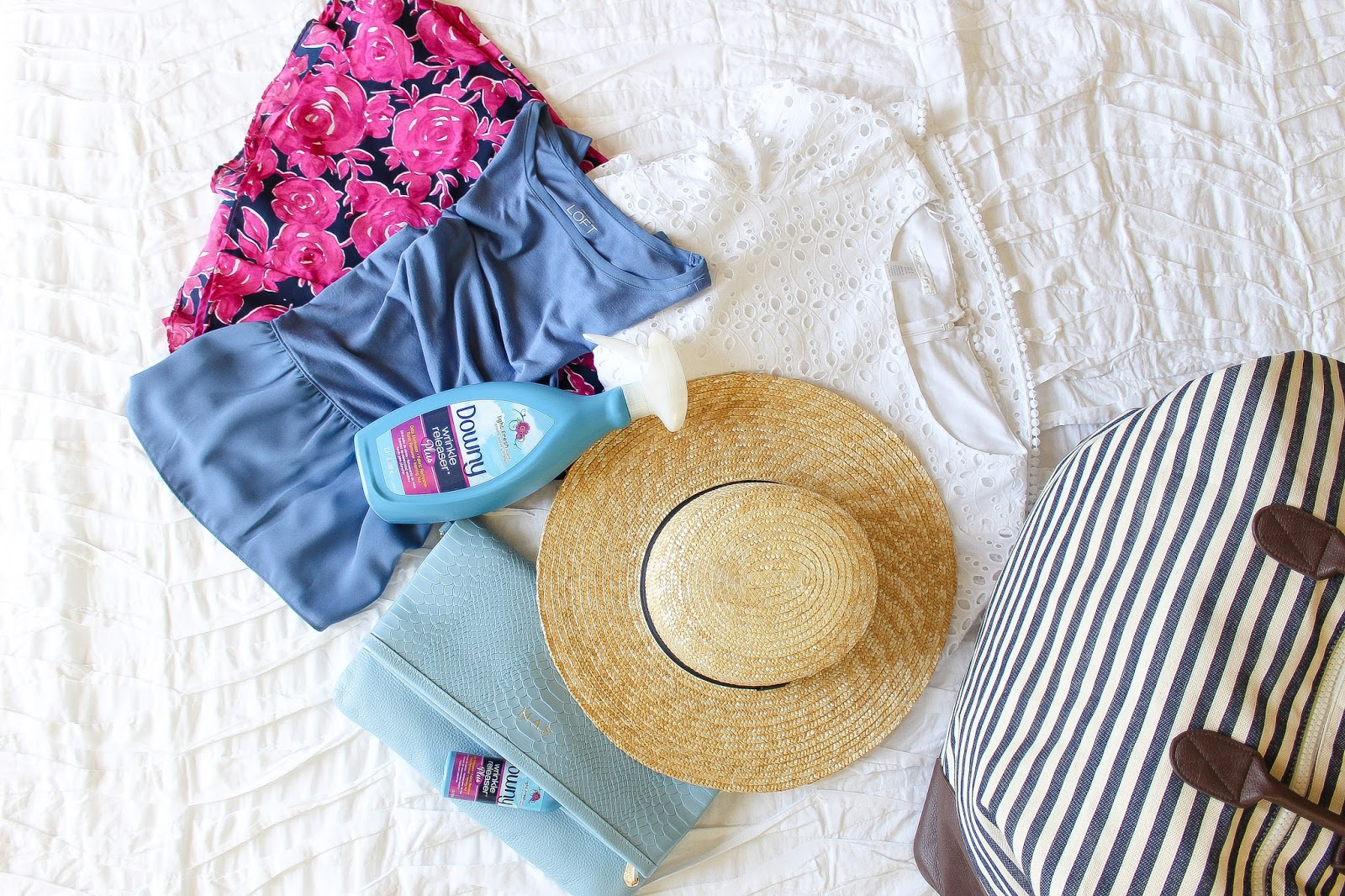 packing-travle blogger-downy-p&g