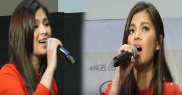 THROWBACK: Angel Locsin Singing 'Akap' During Her Mall Show For 'Everything About Her'
