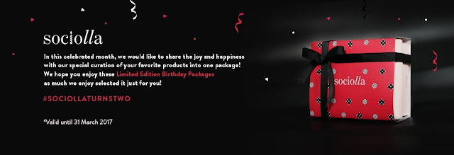 Sociolla Birthday Packages