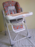 4 High Chair BabyDoes CH10 dengan Multi-position Recliner