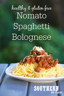 Gluten Free Nomato Spaghetti Bolognese Recipe AIP