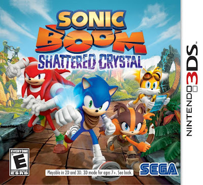 Sonic Boom Shattered Crystal CIA 3DS  EUR
