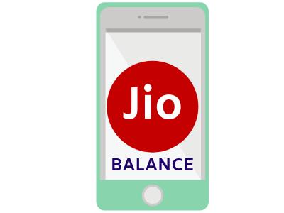 Jio Balance Check Number