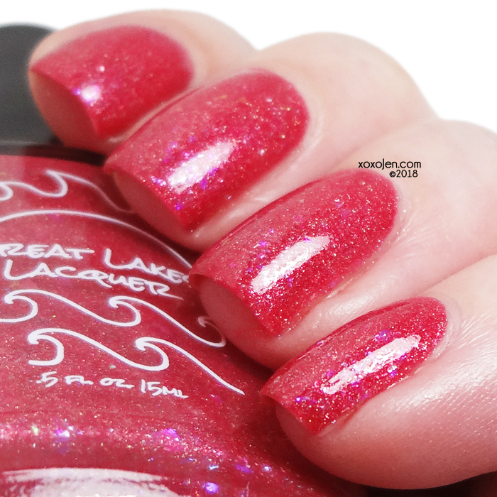 xoxoJen's swatch of Great Lakes Lacquer Germs On A Plane