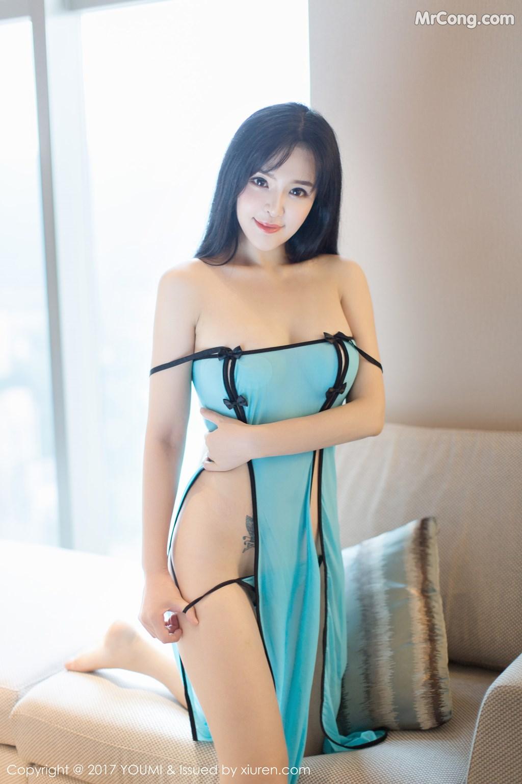 YouMi Vol.070: Model Liu Yu Er (刘 钰 儿) (45 pictures)