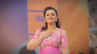 Bangladeshi Actress Purnima in Pink Dress 1