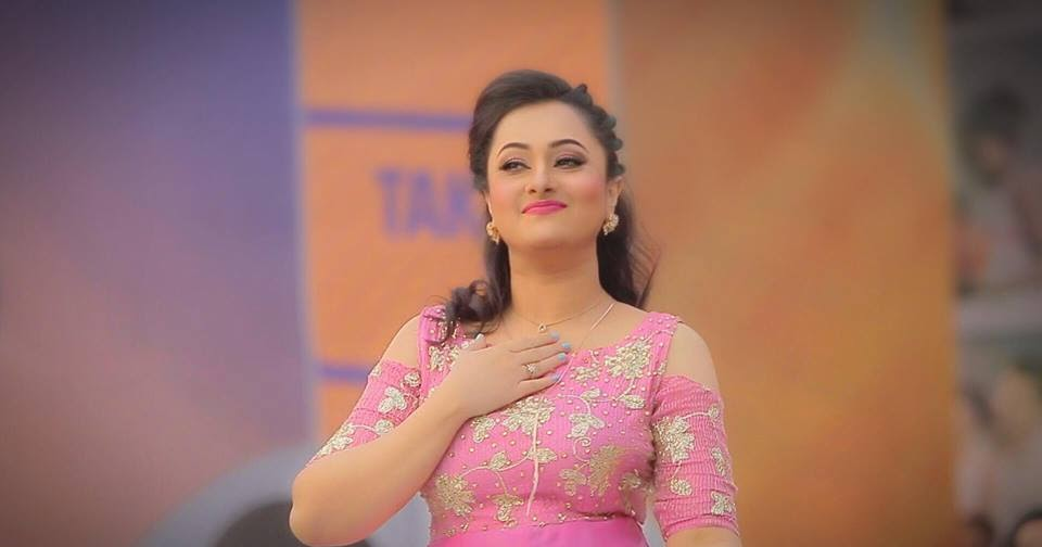 Actress Celebrities Photos Purnima Hot In Pink Dress At